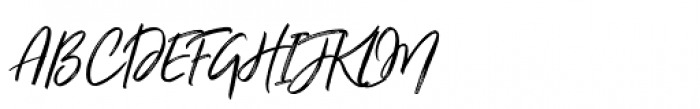 Just Lovely Slanted Font UPPERCASE