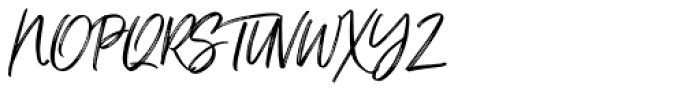 Just Lovely Font UPPERCASE