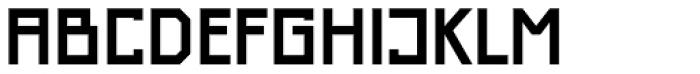 Just Square Cyrillic Std Demi Font UPPERCASE