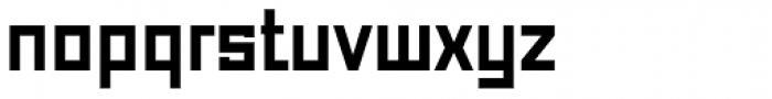 Just Square Cyrillic Std Demi Font LOWERCASE