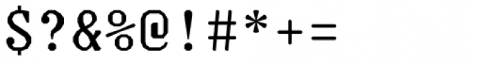 Justice Regular Font OTHER CHARS