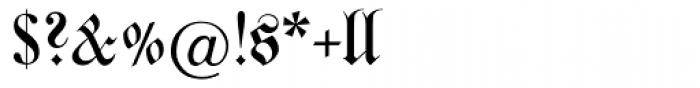 Justus Fraktur EF Regular Dfr Font OTHER CHARS