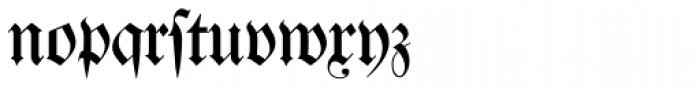 Justus Fraktur EF Regular Dfr Font LOWERCASE