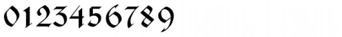 Justus Fraktur EF Regular Font OTHER CHARS