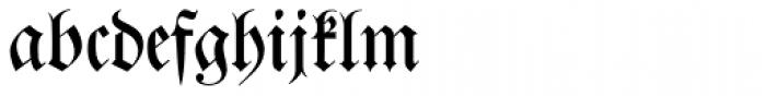 Justus Fraktur EF Regular Font LOWERCASE