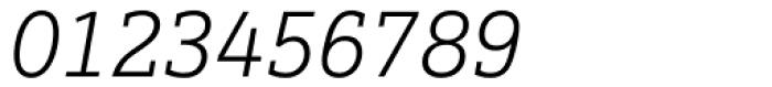 Justus Pro Light Italic Font OTHER CHARS