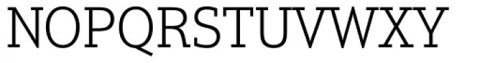 Justus Pro Light Font UPPERCASE