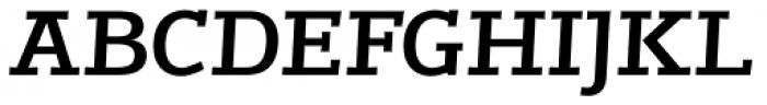 Jutlandia Slab Bold Italic Font UPPERCASE