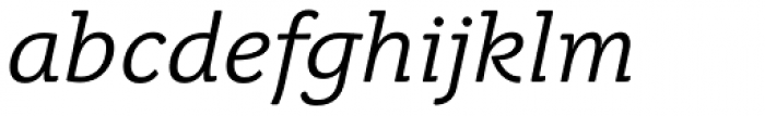 Juvenis Book Italic Font LOWERCASE