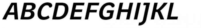Juvenis Medium Italic Font UPPERCASE