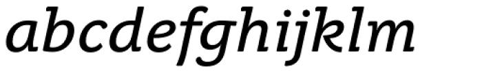 Juvenis Text Italic Font LOWERCASE