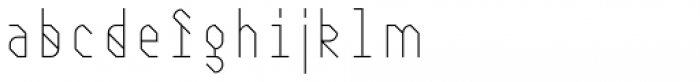 Juxta Sans Mono Medium Font LOWERCASE