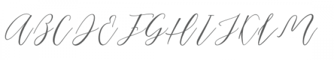 Just Marriage Font UPPERCASE