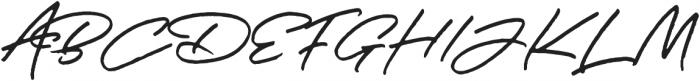JV Signature Alt otf (400) Font UPPERCASE