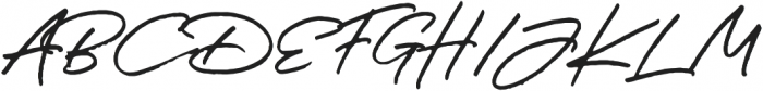 JV Signature otf (400) Font UPPERCASE