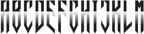 JVNE Blackie Rad otf (900) Font UPPERCASE