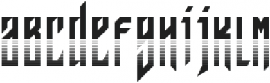 JVNE Blackie Rad otf (900) Font LOWERCASE