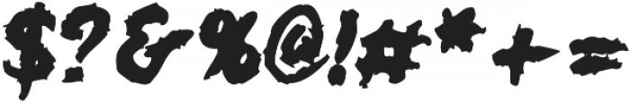 JVNEBroomstx Beast otf (400) Font OTHER CHARS