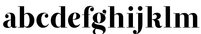 JWH Font LOWERCASE