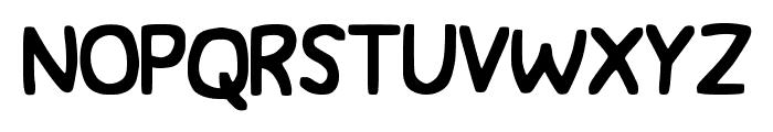 JWerd Font UPPERCASE
