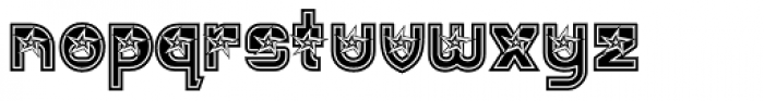 JWX Twisted Star Font LOWERCASE