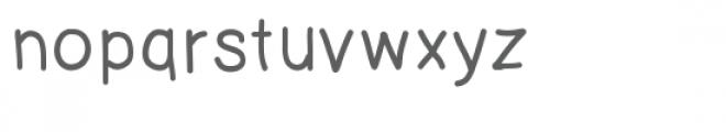 jw chunky font Font LOWERCASE