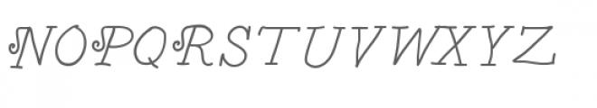 jw fancy grocery list italic font Font UPPERCASE