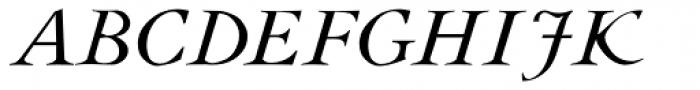 JY Rebeca New Italic Font UPPERCASE