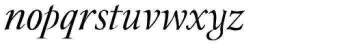 JY Rebeca New Italic Font LOWERCASE