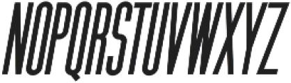 K Font UPPERCASE