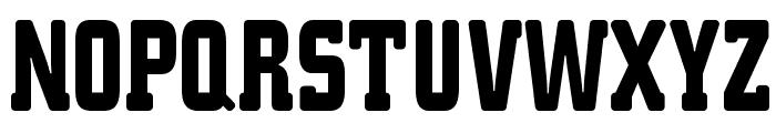K.O.Activista-Bold Font UPPERCASE