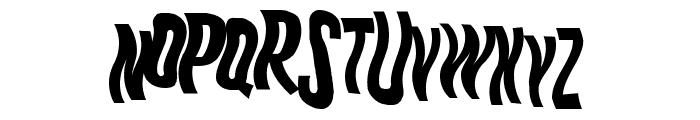 K.P. Duty - Woozy JL Font UPPERCASE