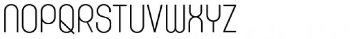 K-haus 105 Light Font UPPERCASE