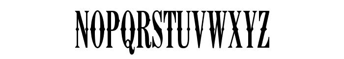 K22 Ambelyn Condensed Font UPPERCASE