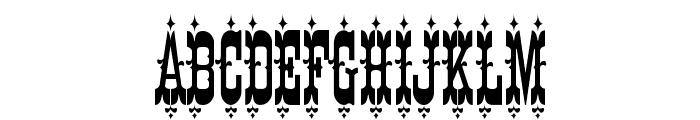 K22 Eureka Font UPPERCASE