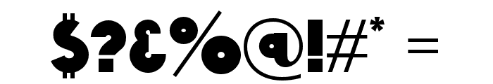 K22 Gadget Font OTHER CHARS