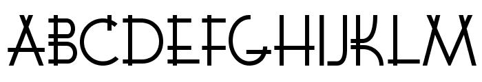 K22 Lawenta Font UPPERCASE