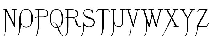 K22 Monastic Font UPPERCASE