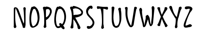 K26ChicoryBean Font LOWERCASE