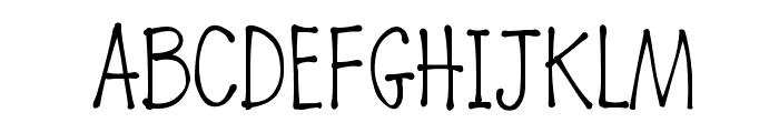 K26DewdropDaisies Font UPPERCASE