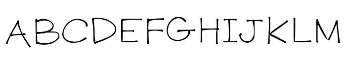 K26PrimrosePeach Font UPPERCASE