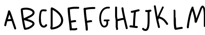 K26ScribbleScrawl Font UPPERCASE