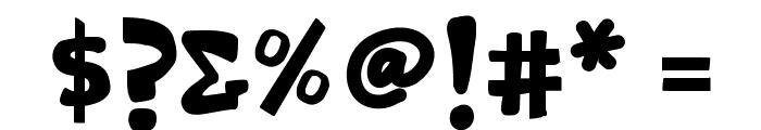 K26Swashbuckle Font OTHER CHARS