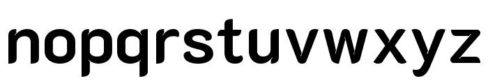K2D Bold Font LOWERCASE