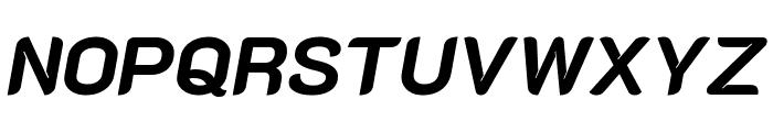 K2D ExtraBold Italic Font UPPERCASE