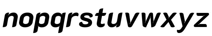 K2D ExtraBold Italic Font LOWERCASE