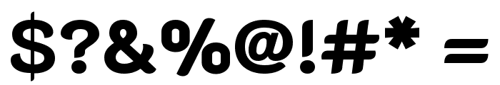 K2D ExtraBold Font OTHER CHARS