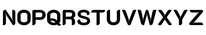 K2D ExtraBold Font UPPERCASE