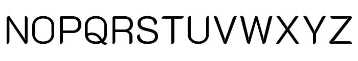 K2D Light Font UPPERCASE