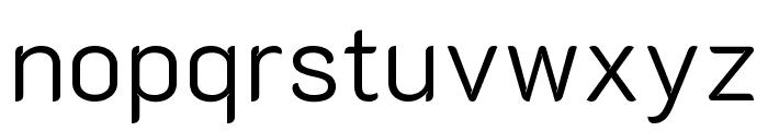 K2D Light Font LOWERCASE
